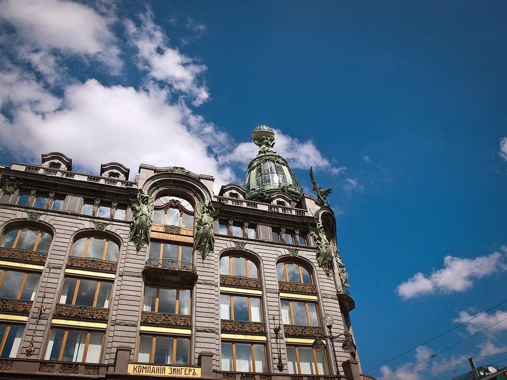 VKontakte headquarters, St. Petersburg.