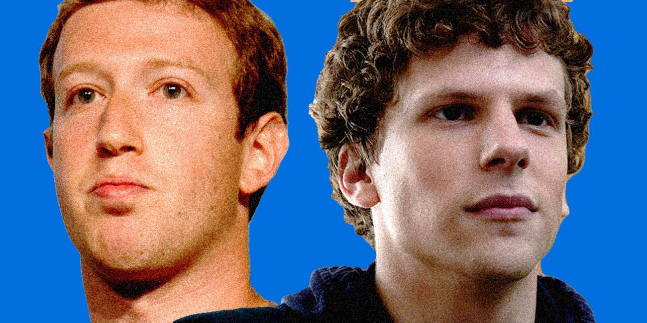 Mark Zuckerberg Jesse Eisenberg