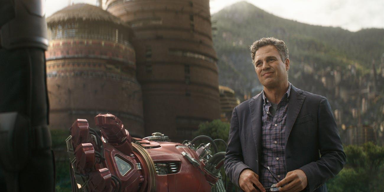 Avengers Hulk Banner Infinity War