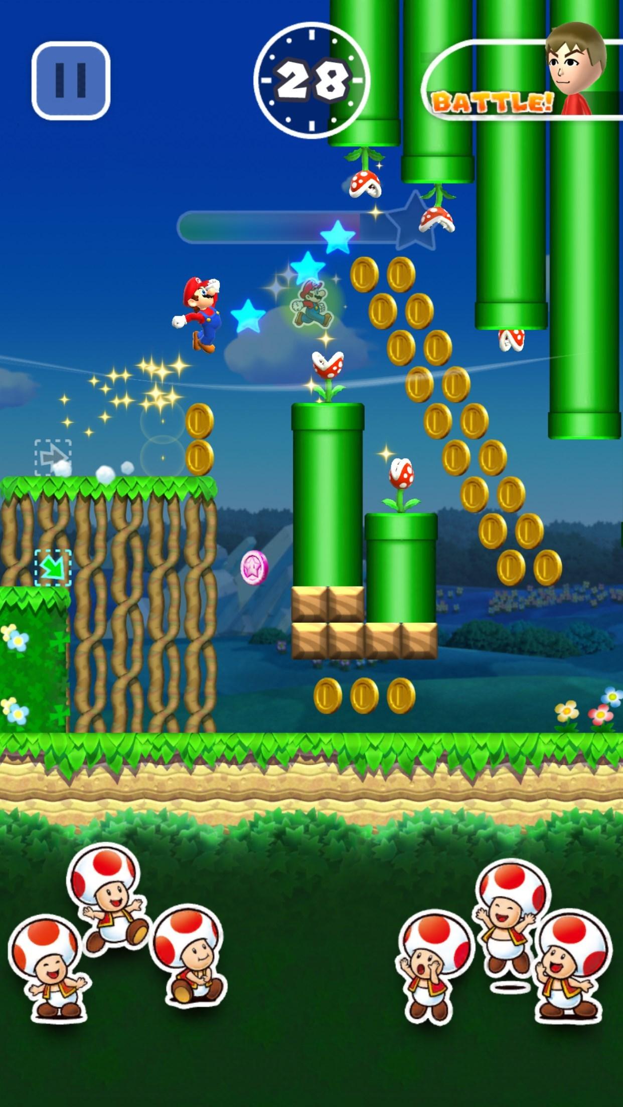 Urge to play Super Mario Run rising...