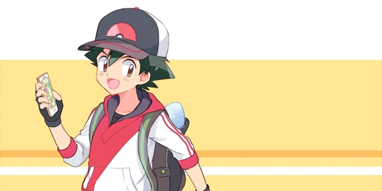 Pokémon Go and Ash Ketchum