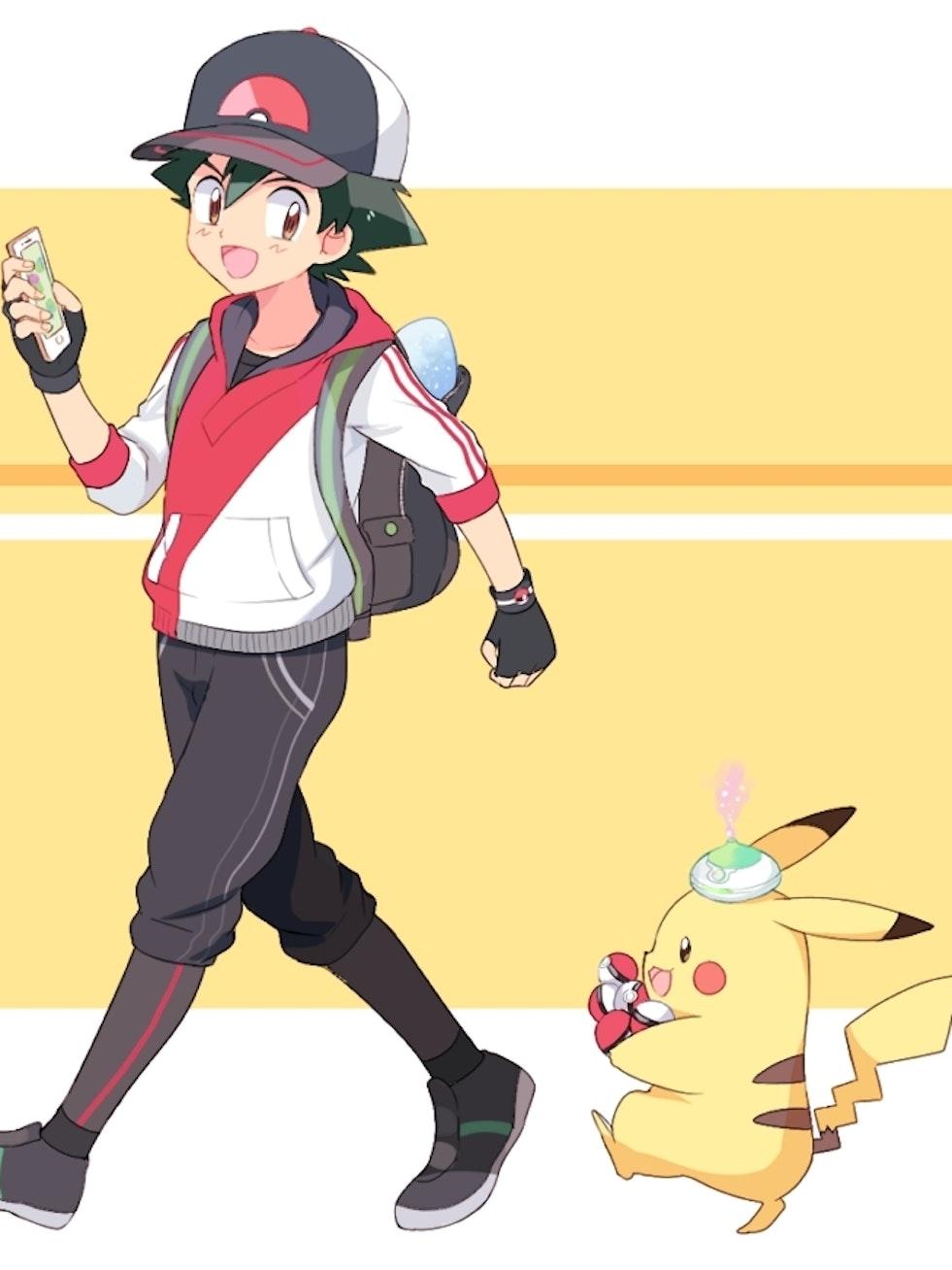 Pokémon Go and Ash Ketchum