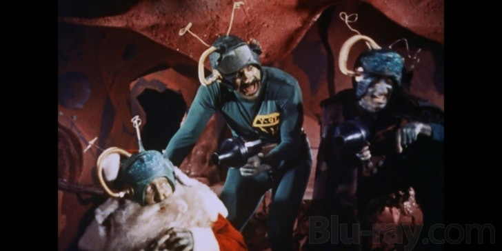 Oh no! The martians are going to kill the martian dressed as Santa because um, I don't know, this movie was confusing!
