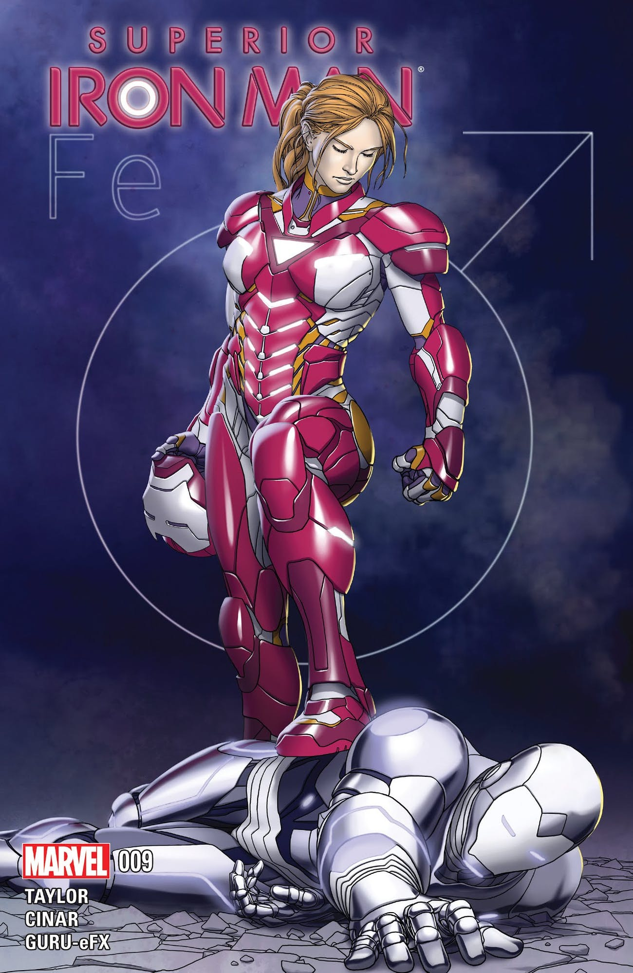 Superior Iron Man Pepper Potts