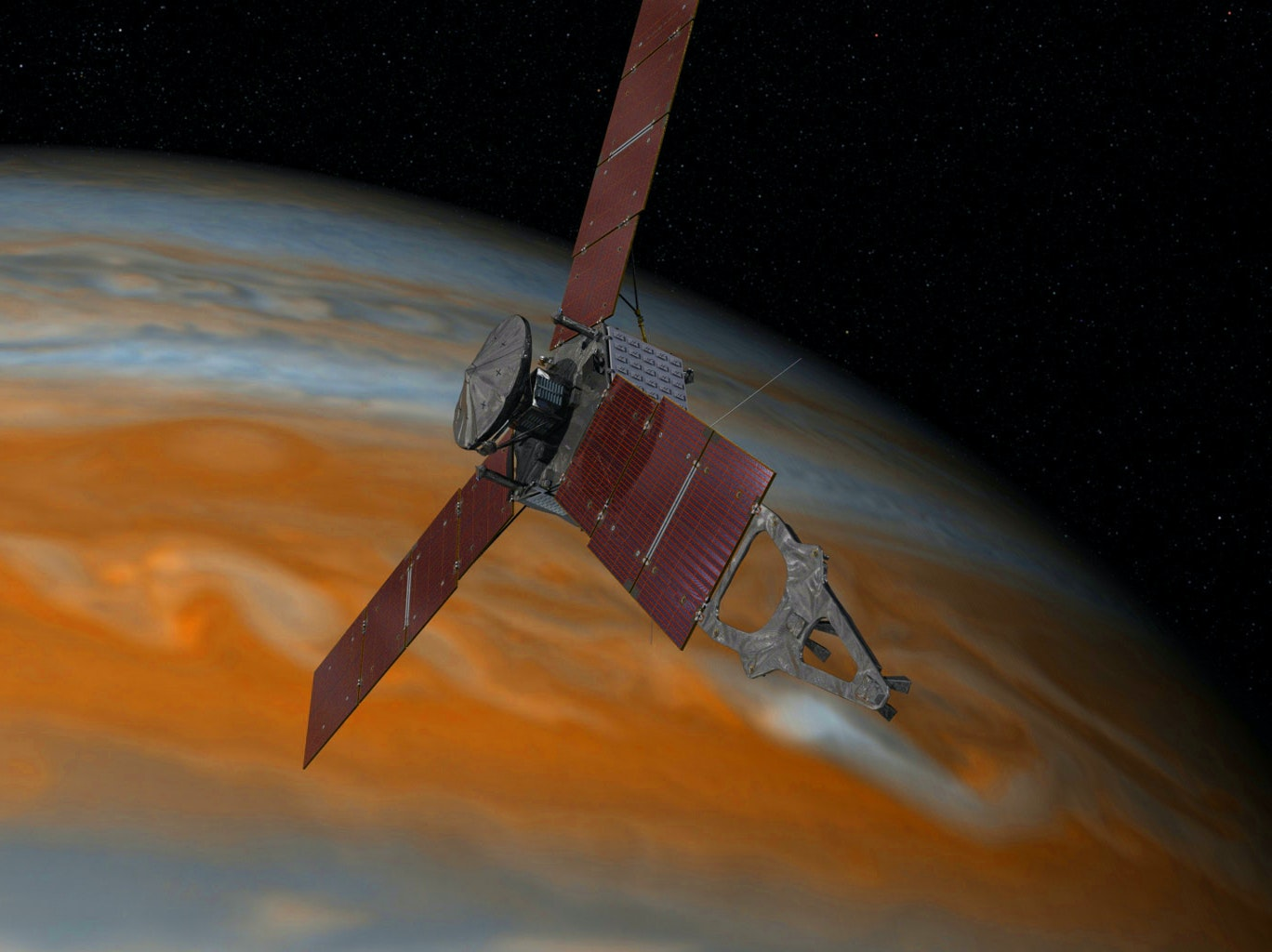 Phew: Juno Seems to Be Doing Fine 594 Million Miles from Home