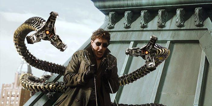 doctor octopus spider man 2 spider-man