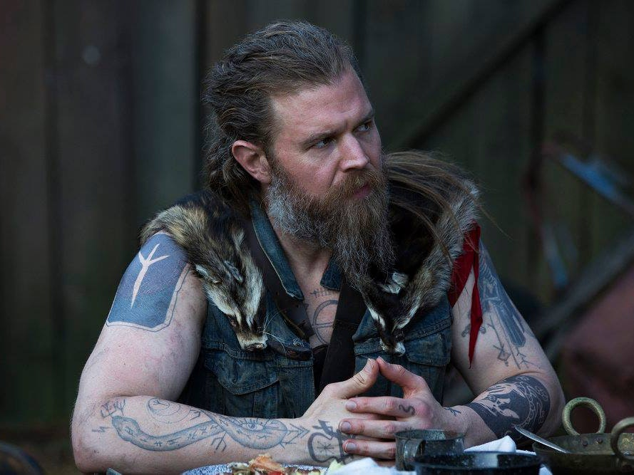'Outsiders''s Ryan Hurst Gets Hair Compliments From Bikers