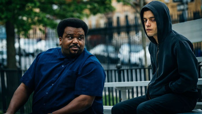 Ray (left, played by Craig Robinson) and Elliot (right) in 'Mr. Robot.'