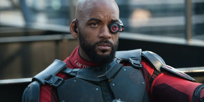 "Will Smith as ""Deadshot"" in 'Suicide Squad'"