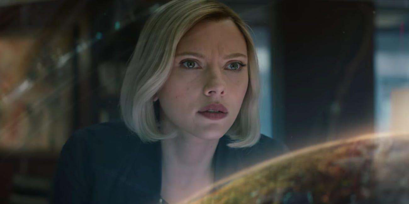 Avengers Endgame Black Widow Infinity Stones