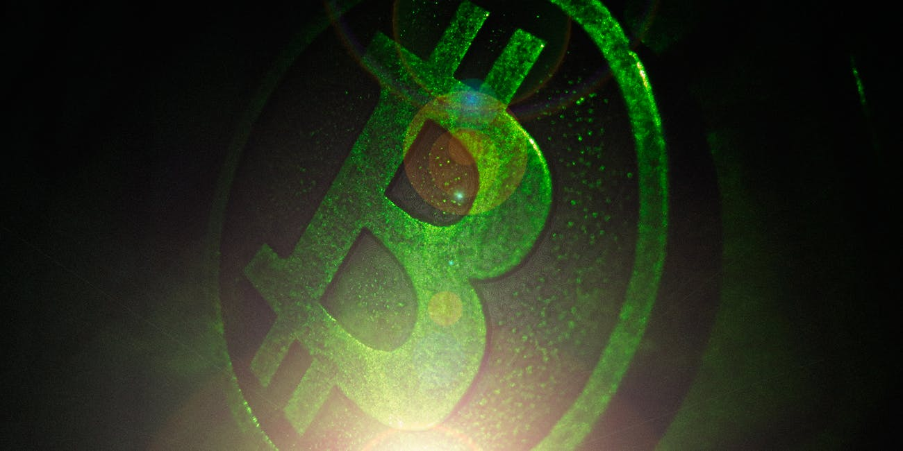 Bitcoin GreenFlareIMG8289