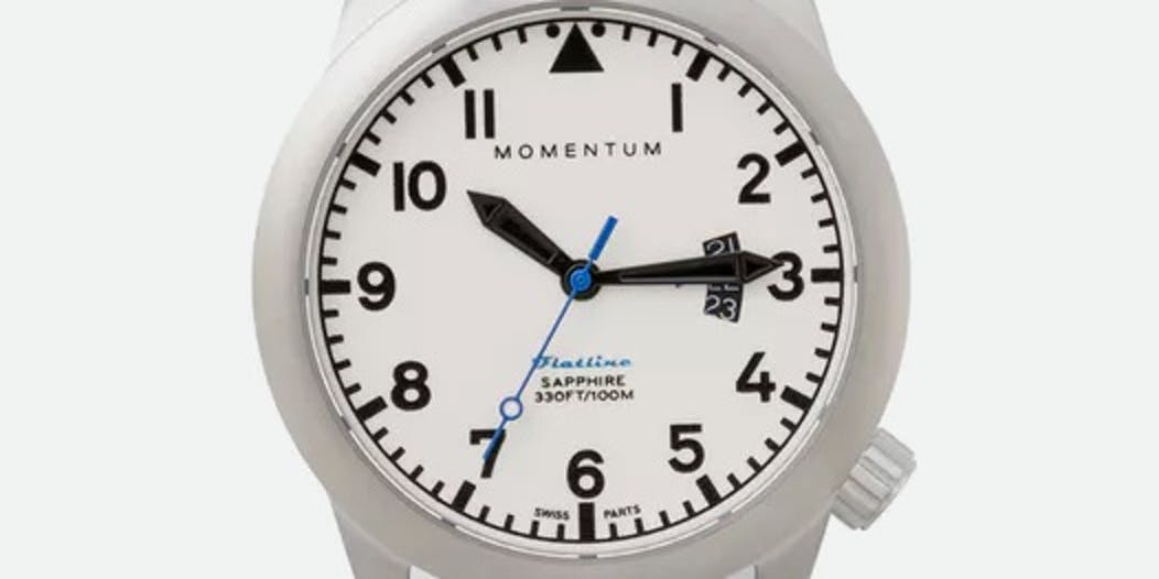 Momentum Watches Flatline 42 Fabric