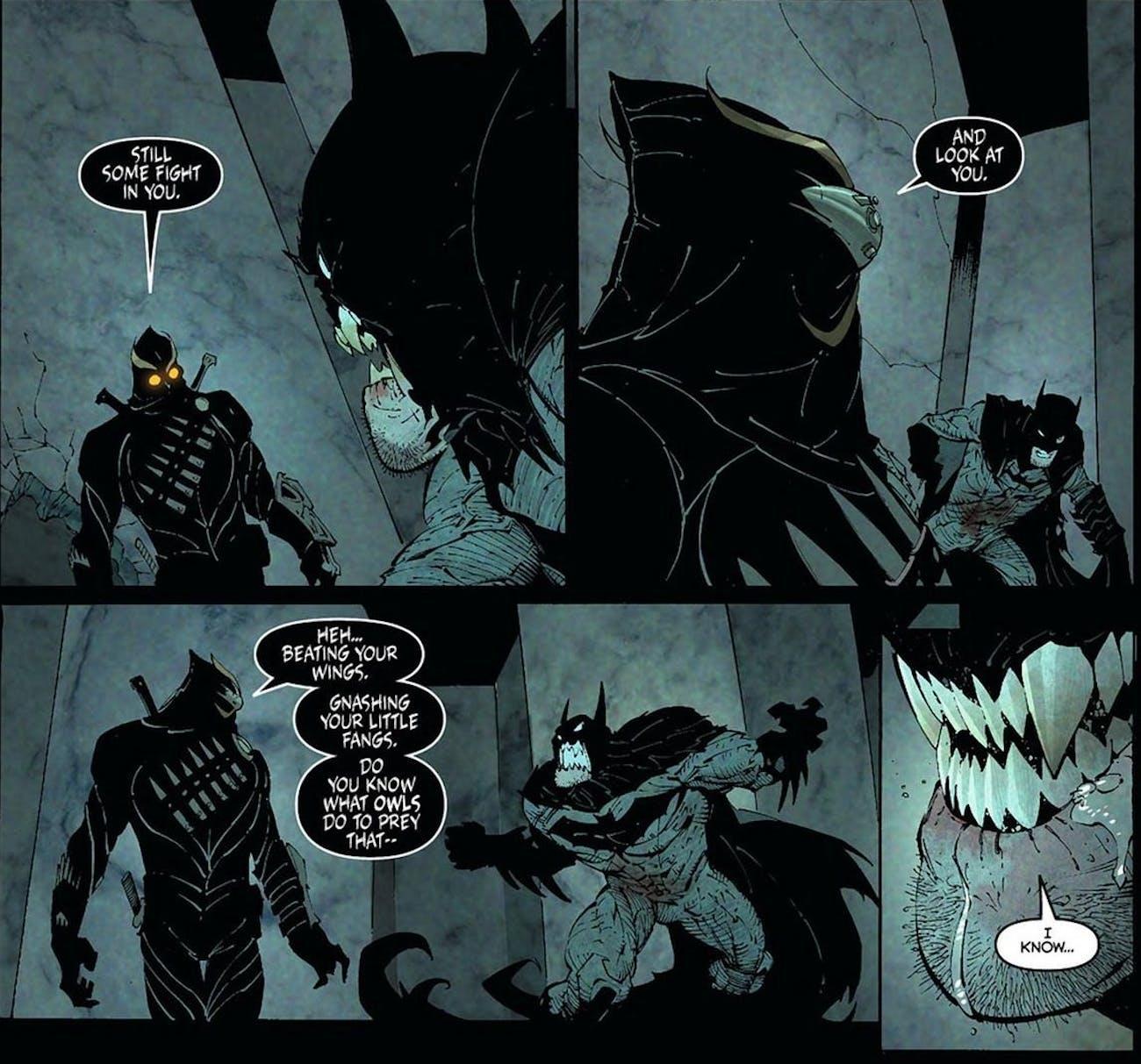 Batman Talon Court of Owls