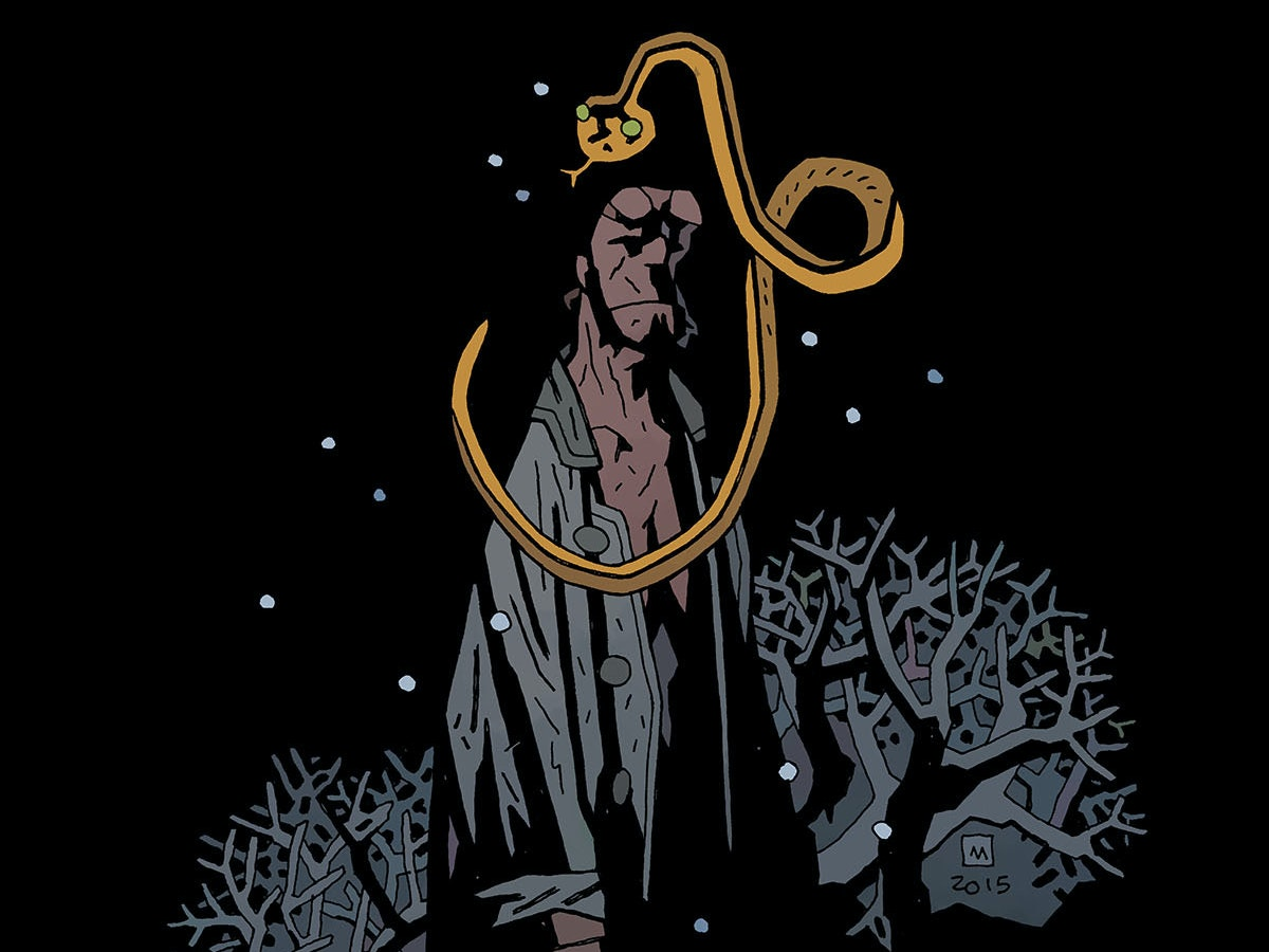 Hellboy' Creator Mike Mignola on Damnation as a State of Mind