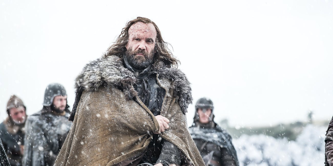 Rory McCann as Sandor Clegane in 'Game of Thrones' Season 7