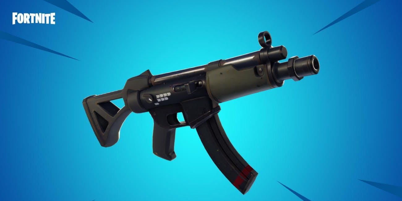 fortnite submachine gun tactical smg - smg tactical fortnite