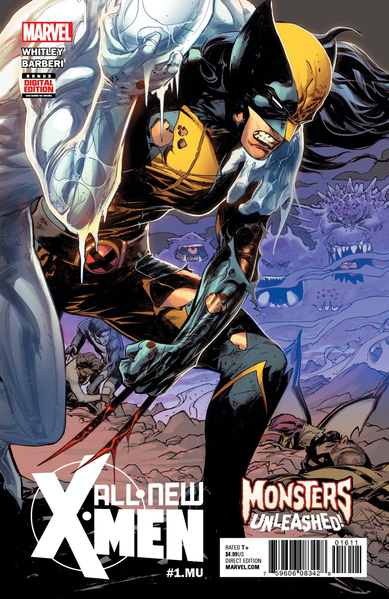 Cover for All-New X-Men Monsters Unleashed by Marvel Comics
