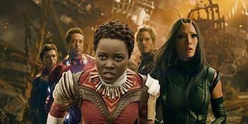 Lupita Nyong'o in Infinity War