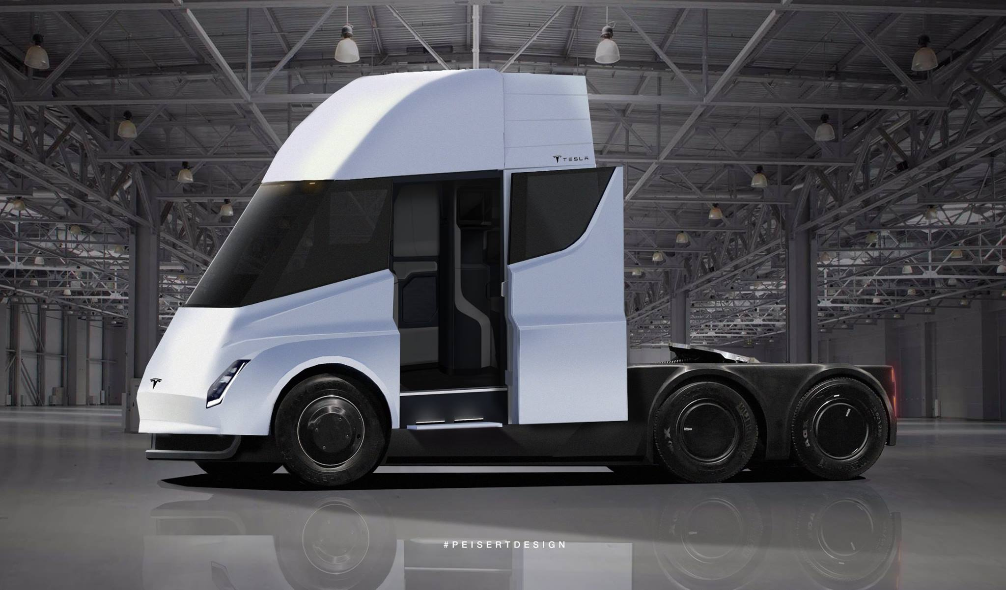 The Tesla Semi Has Almost Arrived Launch Date Pre Orders And Sightings Inverse