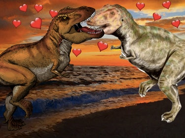 Tyrannosaurs Loved Making Out, Say Paleontologists