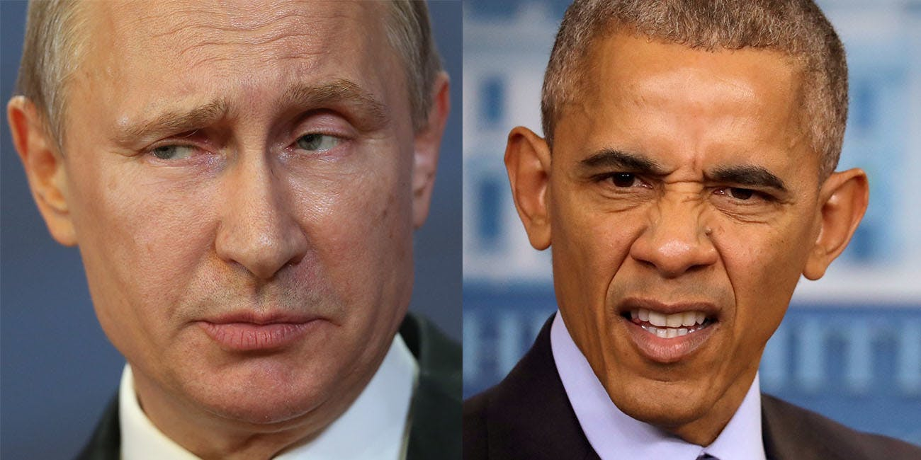 Obama releases GRIZZLY STEPPE sanctions on Russian intelligence under Vladimir Putin