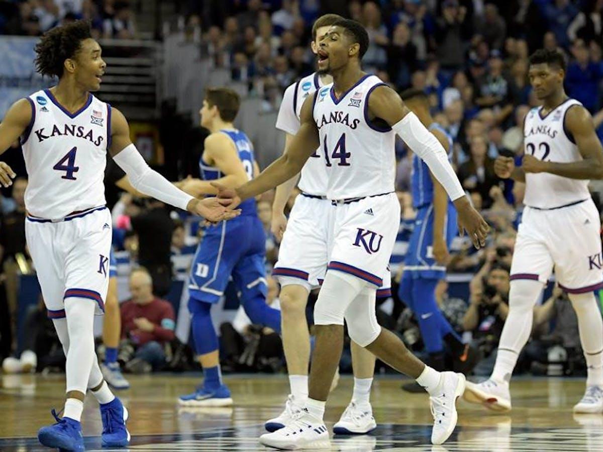 1abc1208c971 March Madness  Will Villanova Beat Kansas in the Final Four  AI Predicts. kansas  basketball