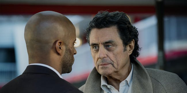 Ian McShane as Wednesday in 'American Gods'
