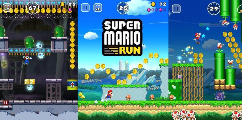 Super Mario Run' Learned All Its Lessons From Earlier Games