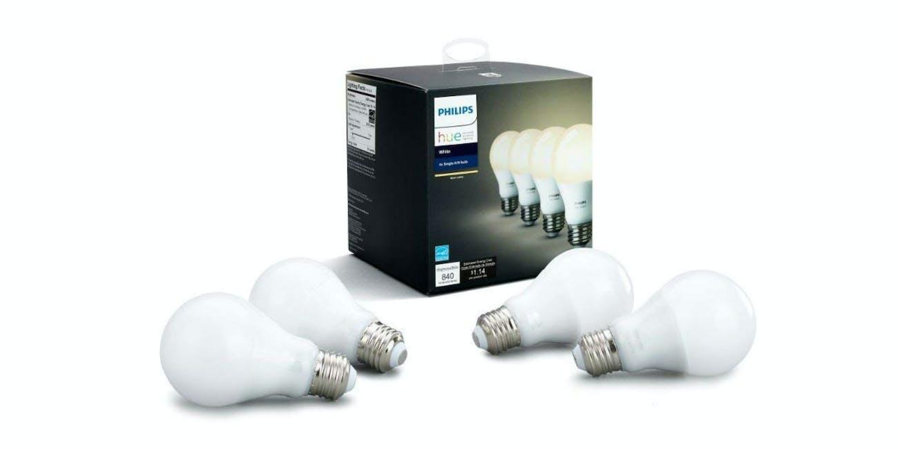 Philips Hue White LED Smart Bulb