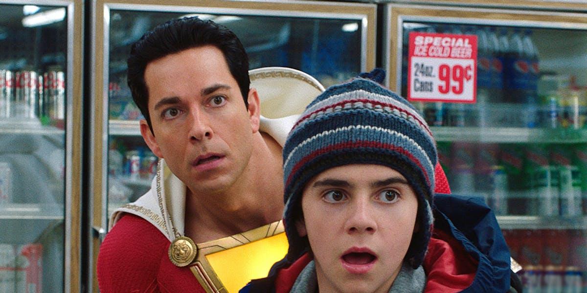 Movie Poster 2019: 'Shazam!' Is A Lightning Bolt That Shocks The Superhero