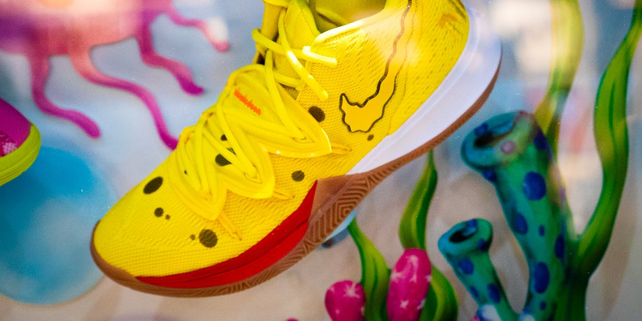 Nike x Spongebob Squarepants Shoe Collaboration SDCC50 2019