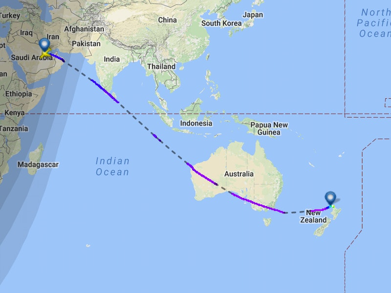 This map shows qatar airways new zealand route the worlds longest this map shows qatar airways new zealand route the worlds longest flight inverse gumiabroncs Image collections
