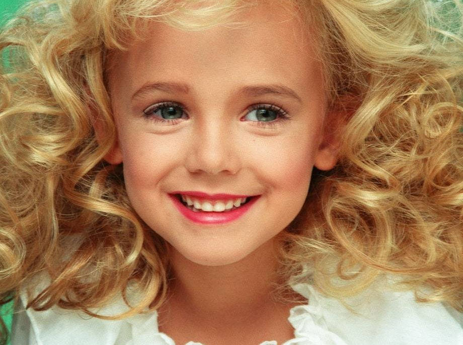 JonBenet during her pageant salad days.