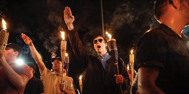 Image result for nazi in Charlottesville