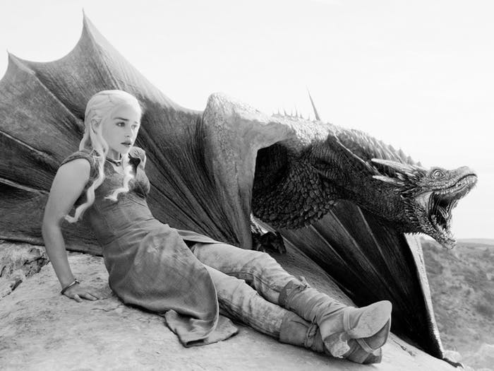 Emilia Clarke as Daenerys Targaryen and her dragon will be crucial in 'Game of Thrones' Season 7