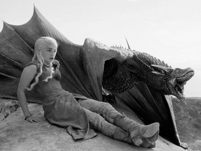 Emilia Clarke as Daenerys Targaryen and her dragon will be crucial in 'Game of Thrones' Season 7