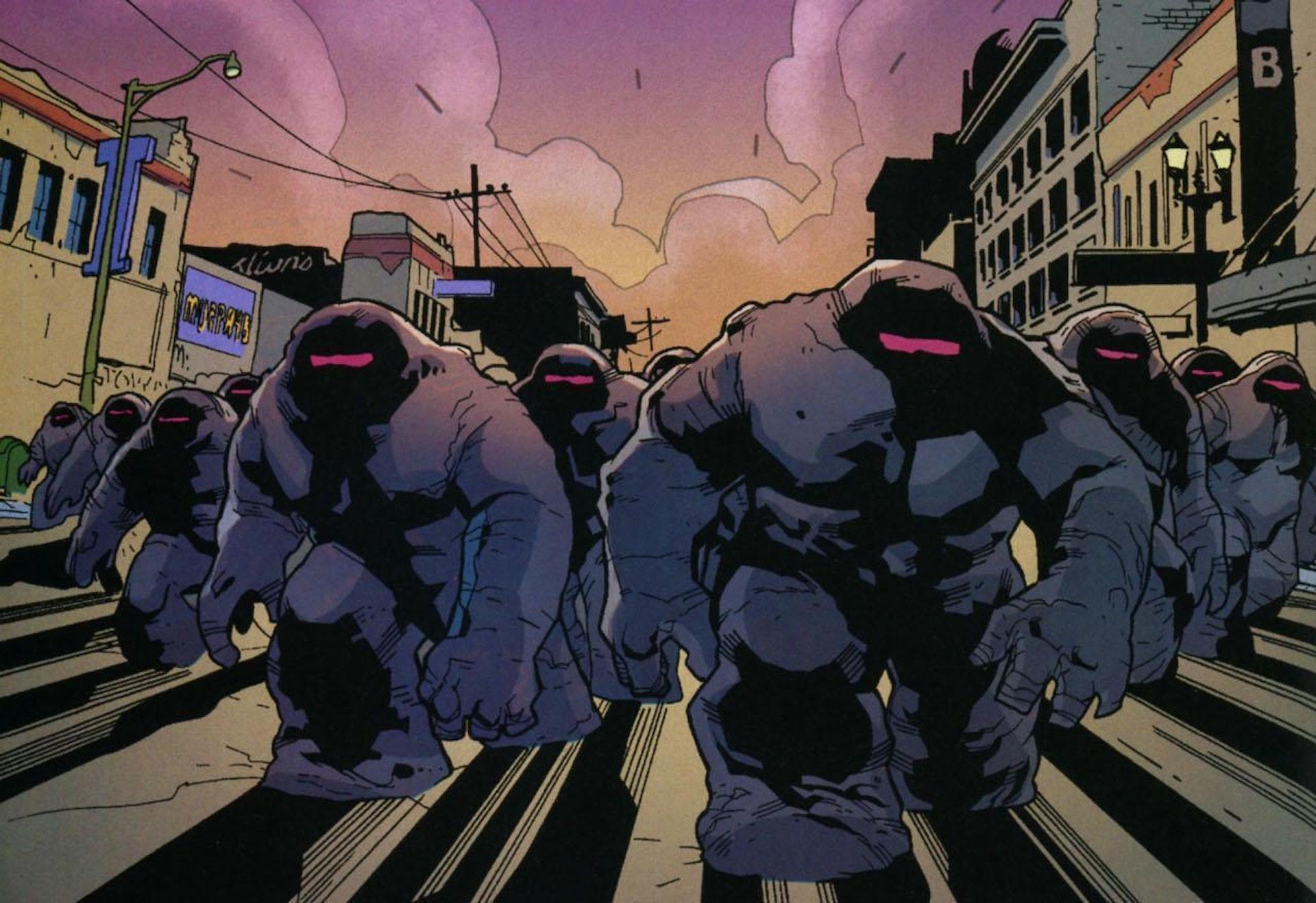 Doctor Strange Mindless Ones in Marvel Comics