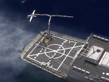 DARPA is Developing a Drone Slingshot to Put on Aircraft Carriers