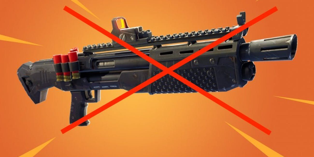 Shotguns in 'Fortnite: Battle Royale' just got nerfed in a big way.