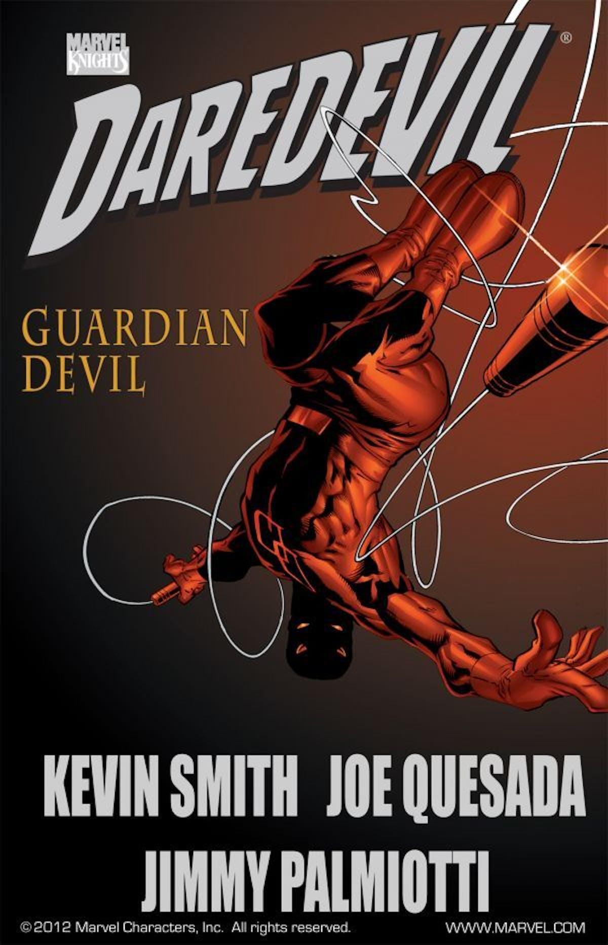 Daredevil Guardian Devil Marvel Comics