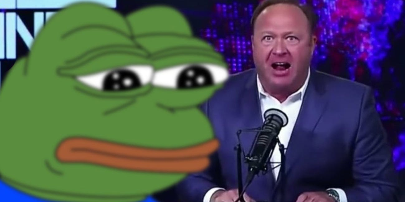pepe the frog alex jones