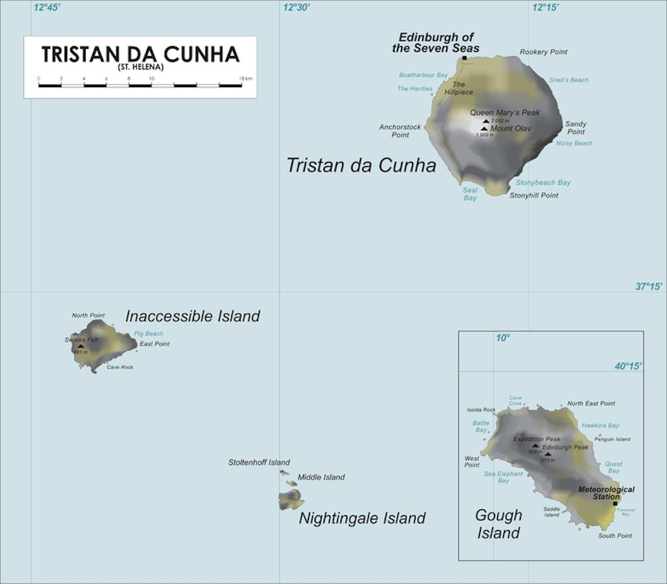Inaccesible Island