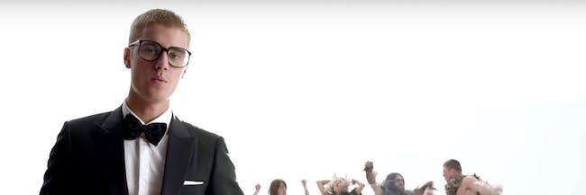 Justin Bieber's new Super Bowl LI ad is unexpectedly scientific.