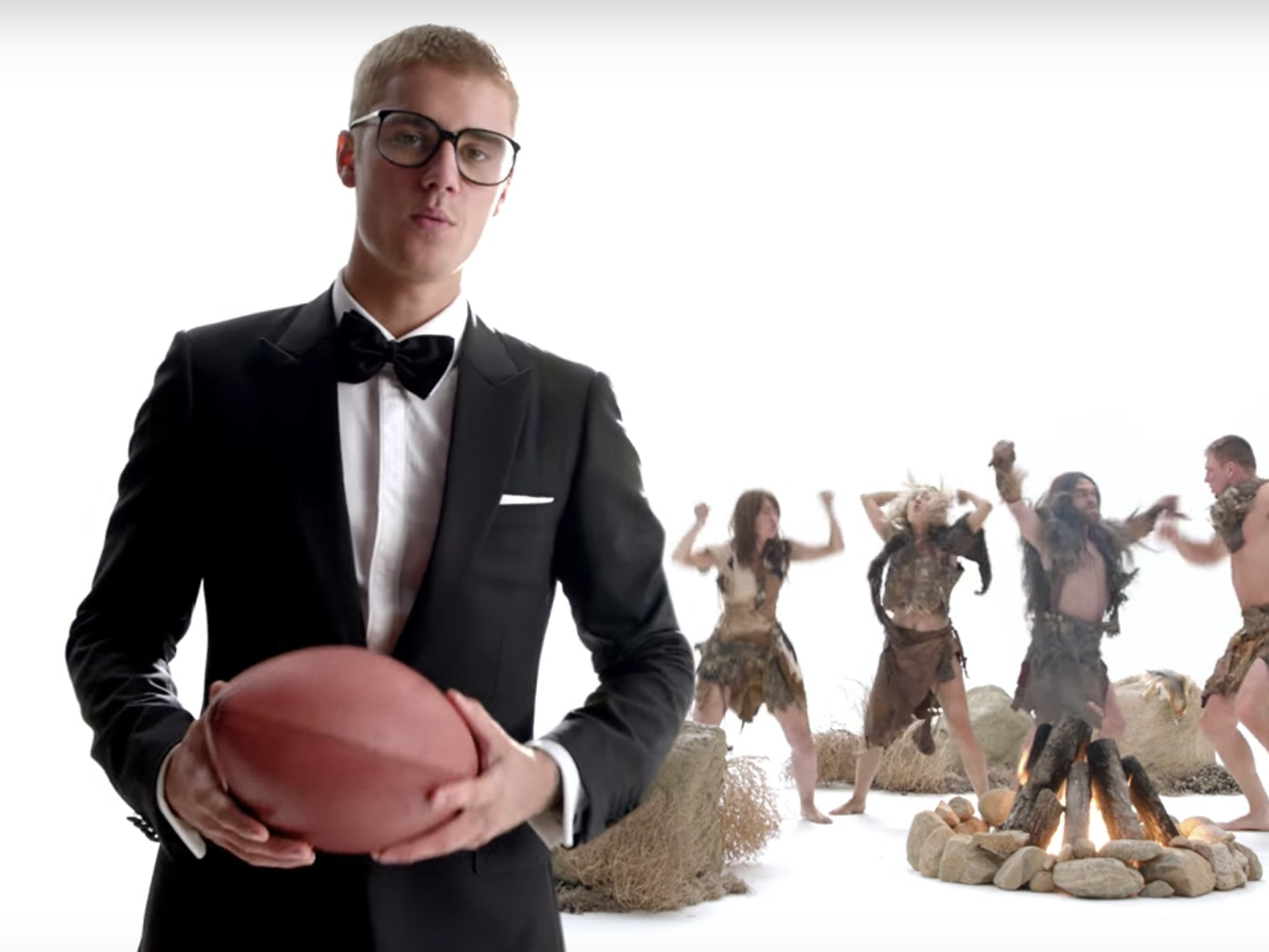 Justin Bieber's new Super Bowl LI ad is unexpectedly scientific.