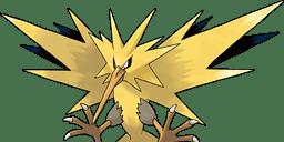 Pokémon Zapdos art
