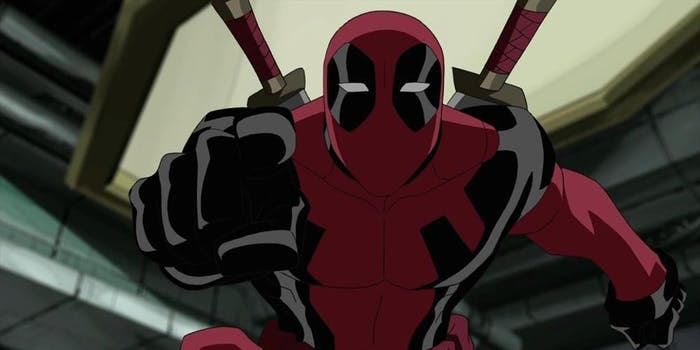 Deadpool in 'Ultimate Spider-Man'