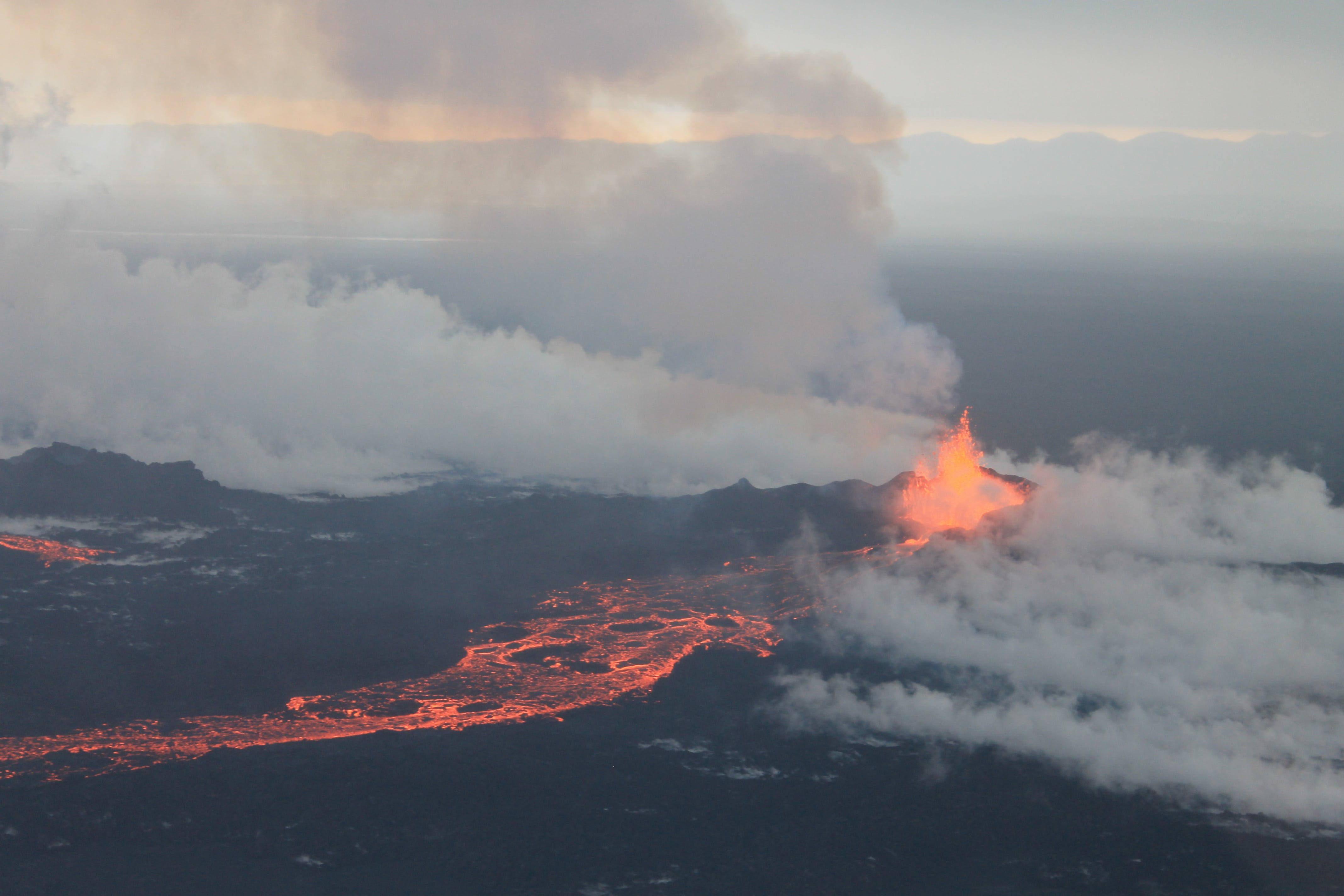 Bárðarbunga Volcano, September 4 2014