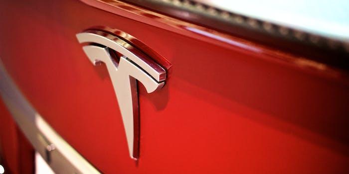 Tesla Model S trunk