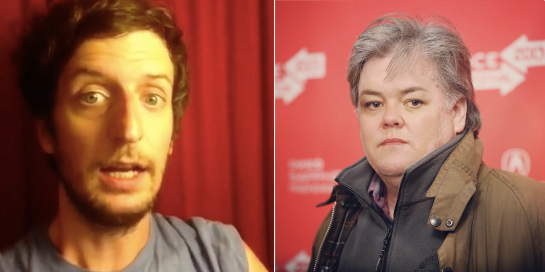 """Creator of Rosie O'Donnell-Steve Bannon Image: """"People Need Levity"""""""