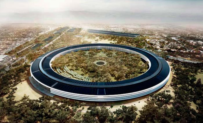 Drone Footage of Apples Mothership HQ Is Mesmerizing  Inverse